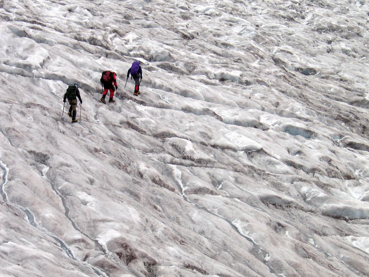 Glacier Skills Antisana