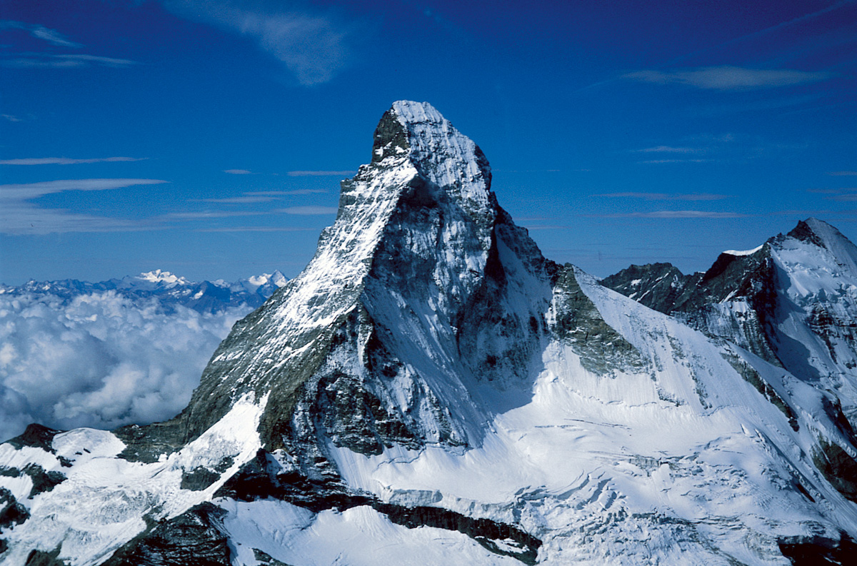 Image result for the matterhorn mountain""