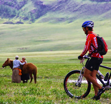 Mongolia Bike Tour with Alpine Ascents International