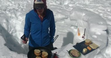 Chef Dani makes tuna melts on Rainier