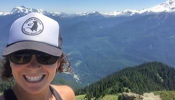Sara Hiking