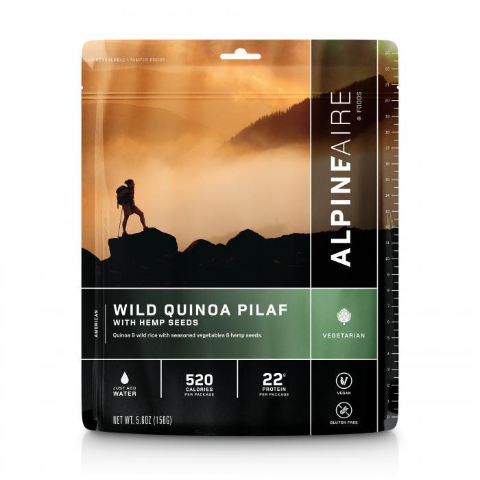 Wild Quinoa With Hemp Seeds Lg Rgb