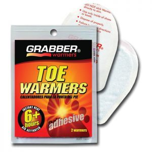 Grabber Toe Warmers 2-pack