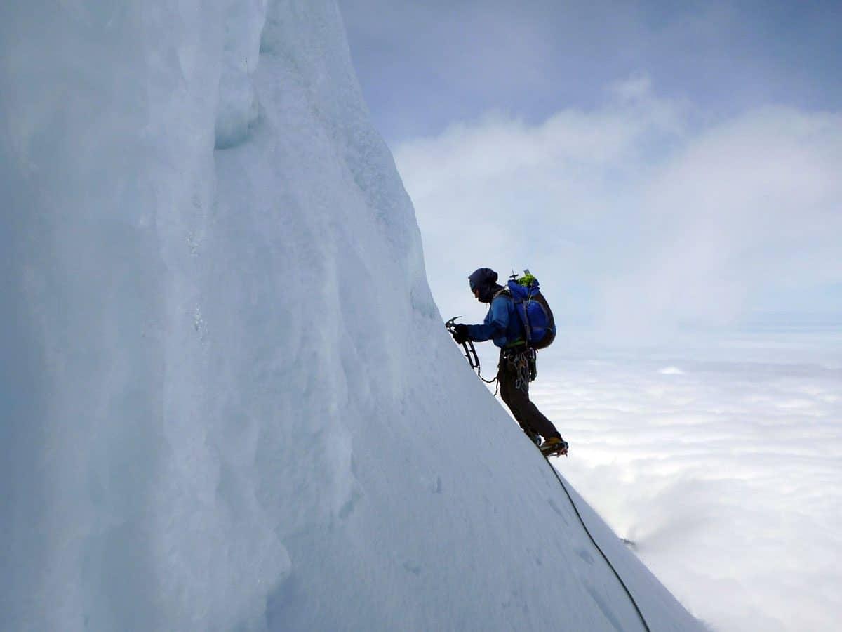 crampons vertical ice