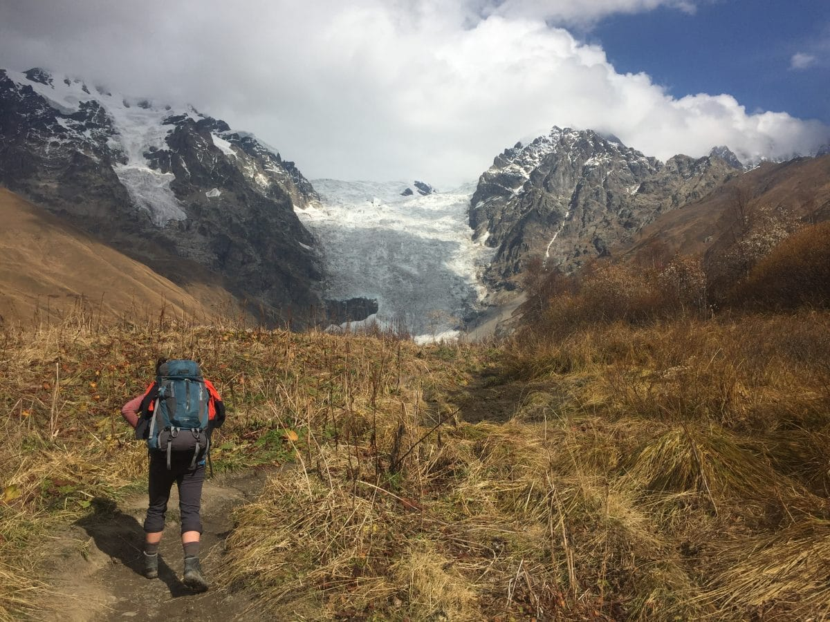 Backpacking in Rep. of Georgia