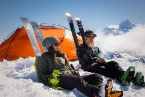 what's weighing you down – tips to keep your ski/splitboard pack light