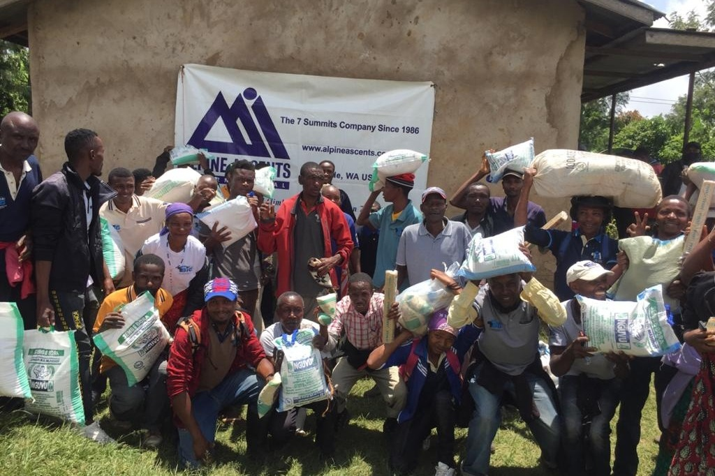 kilimanjaro covid-19 hunger relief update