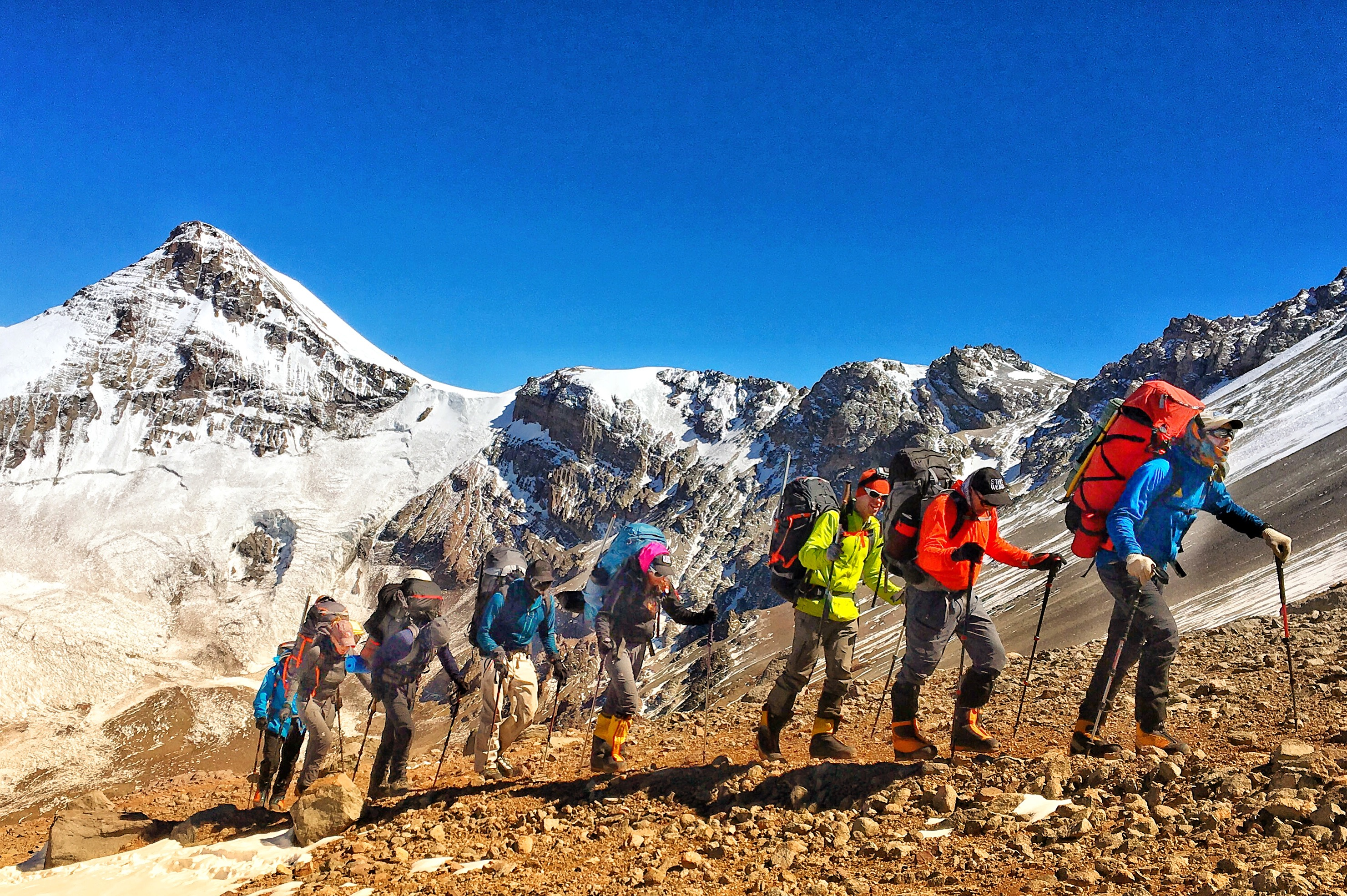 improving body composition for mountaineering